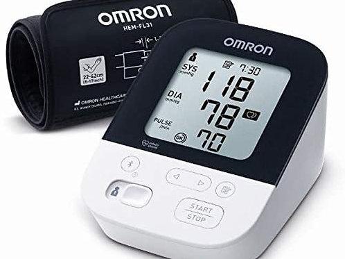 OMRON M4 INTELLI IT - Medidor de presión de Brazo con tecnología Intelli Wrap Cu