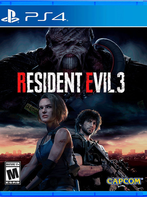 Juego Resident Evil 3 PS4