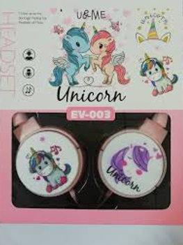 Auriculares Unicorn Ev003