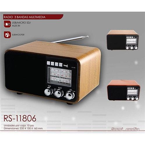 Sami Radio Clasico Ac/Dc 3 Banda RS-11806