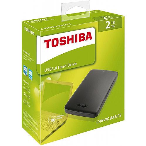 Disco duro externo Toshiba 3.0 2 Tb