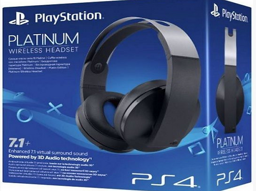Auriculares de Play Station Paltinium