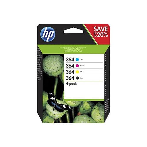 Pack Tinta HP 364 Color y Negro