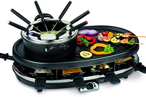 Severin Combinación de Raclette-fondue RG 2348