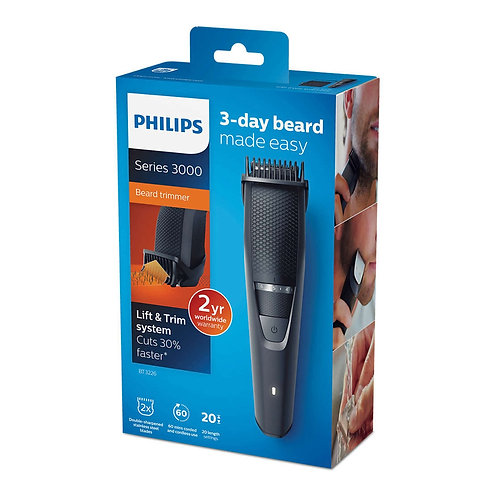 Barbero Philips BT3226/14 con sistema Lift & Trim
