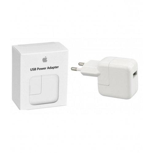 Adaptador de corriente USB Original de Apple MD836ZM/A para iPad, iPhone, iPod -