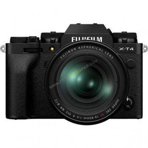 Camara FujiXT-4 + objetivo 16-80mm (Solo Bajo Pedido)