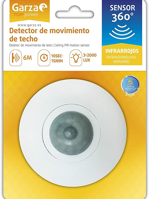 Detector de Movimiento de techo