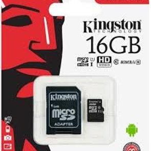 Tarjeta de Memoria Kinsgton 16 GB