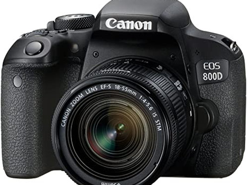 Canon eos 2000d objetivo 18-55 DCIII