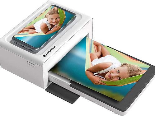 AGFA Foto Realipix Moments - Impresora de Fotos Bluetooth (Formato de Tarjeta Po