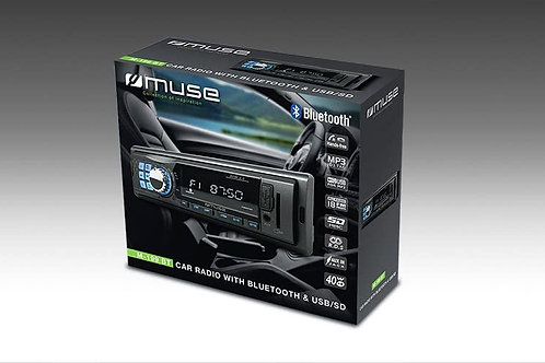 Radio CD de coche con Bluetooth Muse Mt-199BT