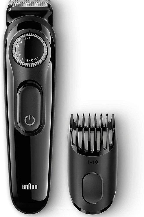 Cortapelos, Recortadora Braun BeardTrimmer BT3022 3 en 1.