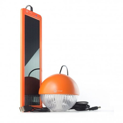Kit solar de iluminación LED para colgar SOLARMOON