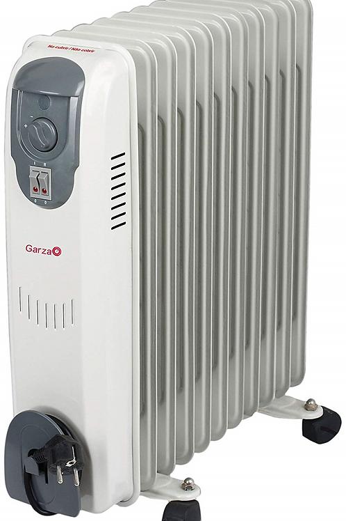 Radiador de aceite de 11 elementos: 3 posiciones de calor 1000w / 1500w / 2500w