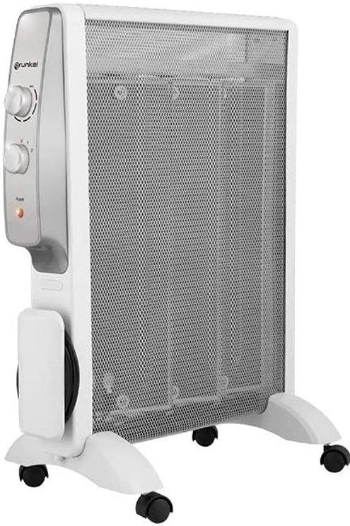 Radiador de mica de 3 elementos de calor.- Grunkel Rmc-g1500