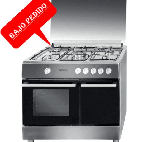 Cocina Svan SVK9560GI Portabombas INOX