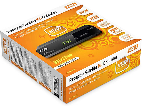 Receptor Satelite Hd Axil rs 0762 Hd