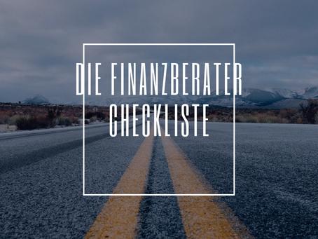 Checkliste: Wie Unternehmer den richtigen Finanzberater finden!