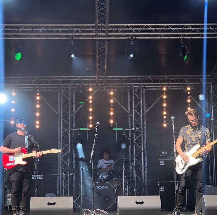Mispers performing at Jersey's Weekender Festival 2018