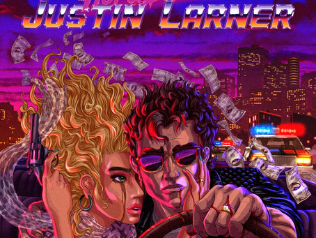 JUSTIN LARNER - 'Hot and Dangerous' | Album Review