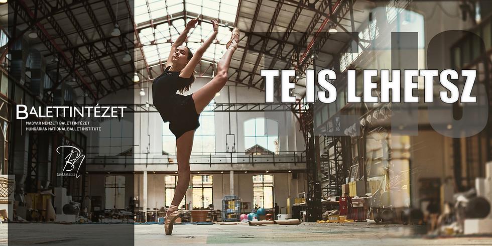 Te is lehetsz - Fotókiállítás és beszélgetés az operai balettképzés műhelytitkairól