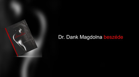 Dr. Dank Magdolna beszéde