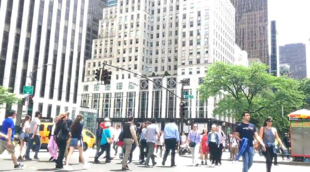 Divatfotózás New York utcáin