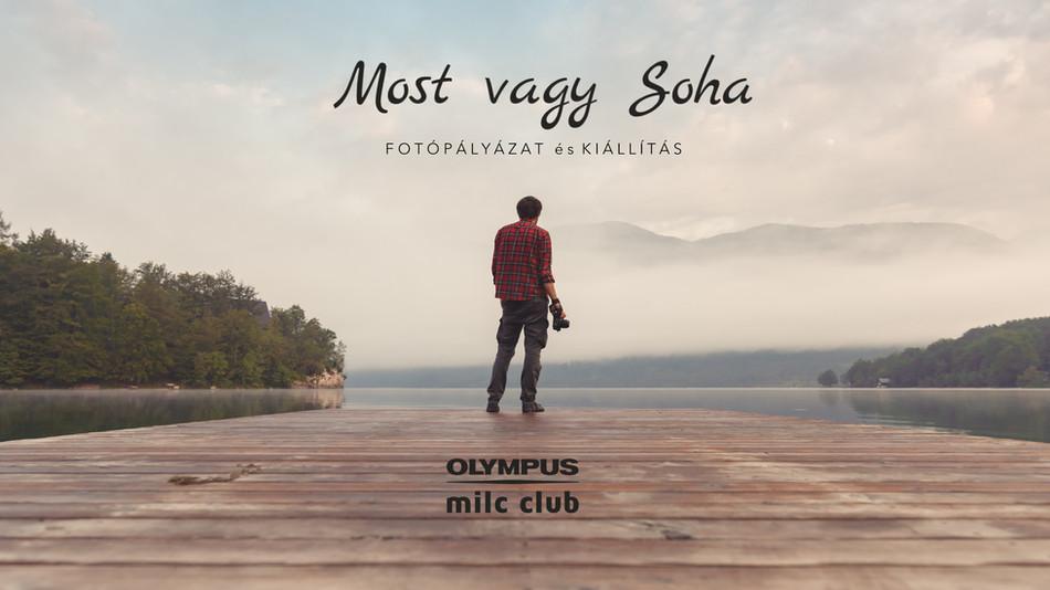Olympus Most vagy Soha fotópályázat kiállításmegnyitó - Tihany 2020. július 24.