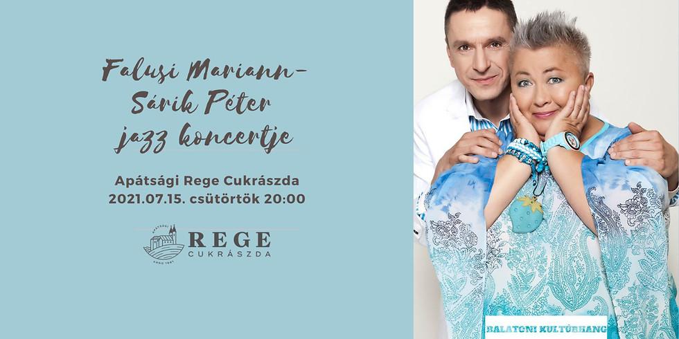 Falusi Mariann-Sárik Péter koncert
