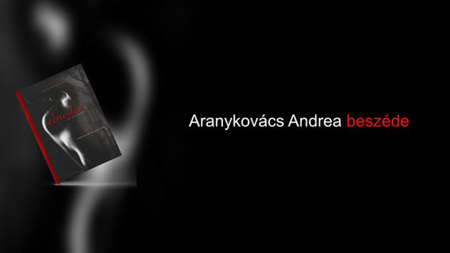 Aranykovács Andrea beszéde