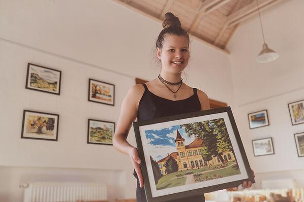 Bernát Sára festménykiállítása