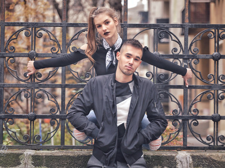 Júlia & Dominik modell portfóliója
