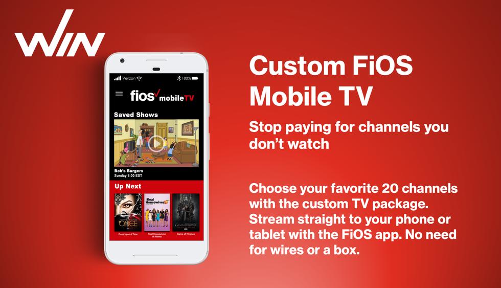 Custom Fios Mobile TV