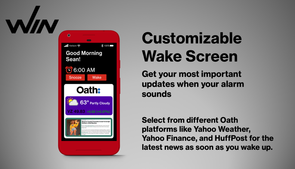 Wake Screen