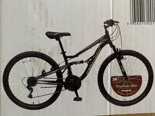 mongoose 26 inch mountain bike