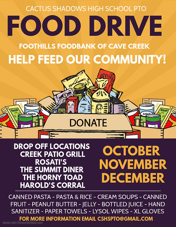 Copy of Copy of Food Drive - Made with P