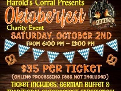 Oktoberfest Gift Ticket