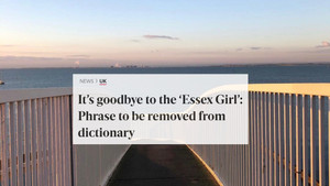 A GOOD TIME TO BE AN 'ESSEX GIRL'