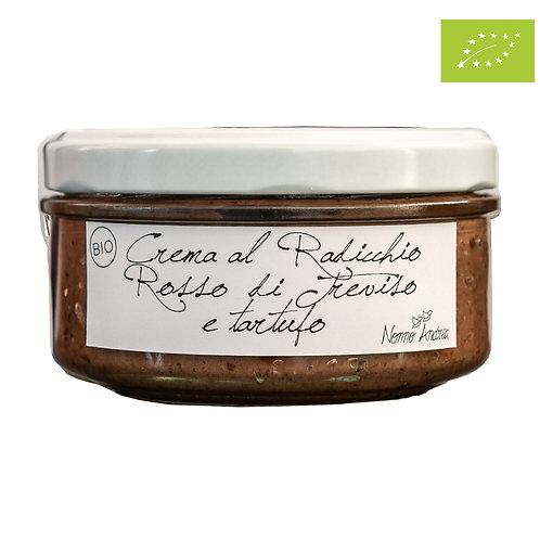 Crema BIOLOGICA al Radicchio Rosso di Treviso e Tartufo