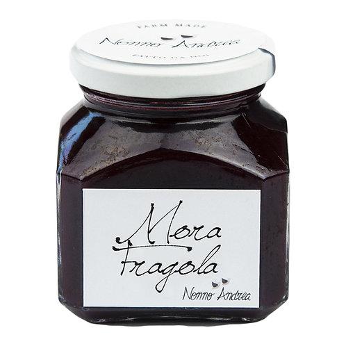 Composta dolce alla mora e fragola