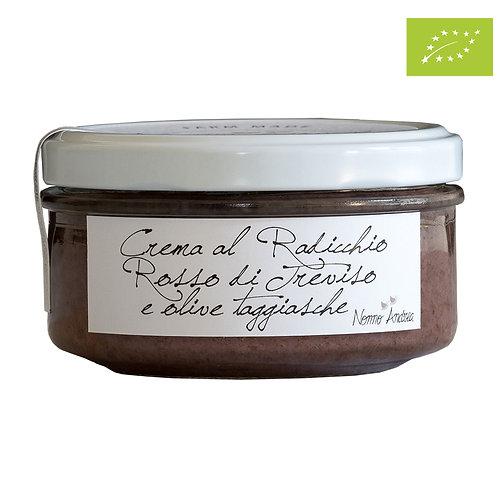 Crema BIOLOGICA al Radicchio Rosso di Treviso e olive taggiasche