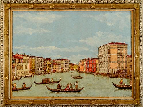 Canal Grande cm 120 x 90 ( 47 x 35 inch )