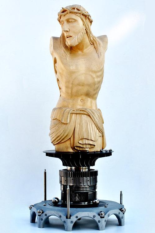 Cristo Spaziale - SPACE CHRIST cm 42 x 95  ( 16 x 37 inch )