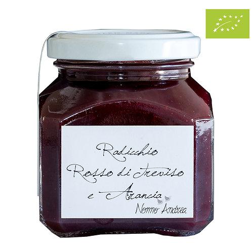 Composta dolce BIOLOGICA al Radicchio Rosso di Treviso e arancia