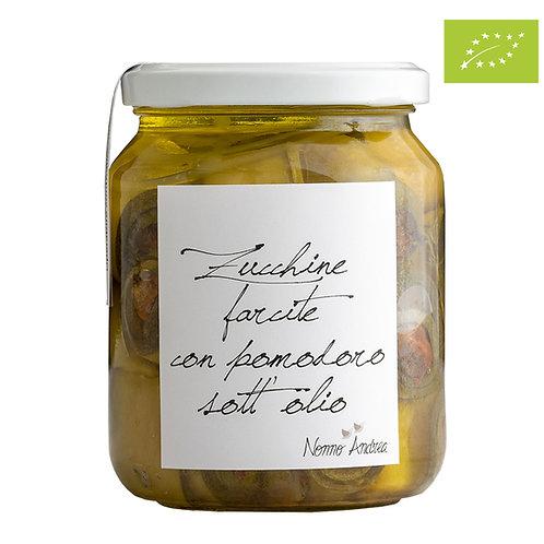 Zucchine farcite con pomodoro sott'olio BIOLOGICHE I nostri prodotti BIO sono Ce