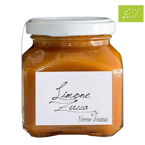Composta dolce BIOLOGICA al limone zucca