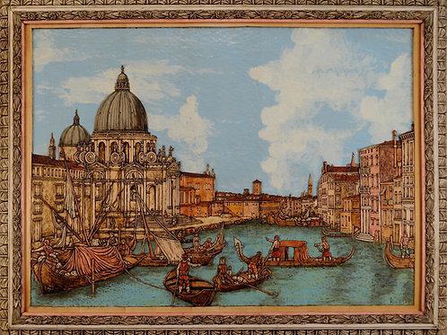 Venezia - Venice  cm 160 x 115  ( 62 x 45 inch )