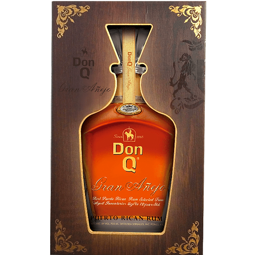"""Gran Anejo"" Puerto Rican Rum astucciato - DonQ"