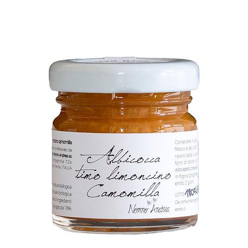 Composta dolce all'Albicocca Timo Limoncino e Camomilla